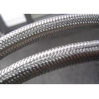 Flexible Conduit Braided Stainless Steel Tubing , Stainless Steel Braided Hose Cover
