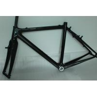 Quality Vintage 52cm Carbon Cyclocross Frameset 142*12mm Rear Thru Axle 980G Net Weight for sale