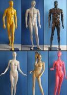 Quality Fashion Male & Female Mannequins for sale