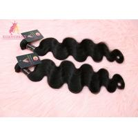 Quality 100% Virgin Cuticle Aligned Indian Hair / Double Drawn Human Body Wave Bundles for sale