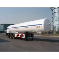 Quality 26000L-3 axles -Cryogenic Liquid Lorry Tanker for Liquid Oxygen for sale