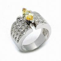 Quality 925 Sterling Silver Ring, Customized Designs are Welcome for sale