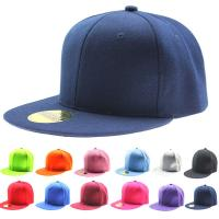 Quality Spandex Cotton Fitted Snapback Baseball Caps For Men / Women Sublimating Label Available for sale