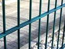 Quality Trellis Gate Double Wire Mesh Fence / 200*50mm Welded Wre Mesh Panels for sale