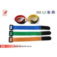 Quality Colored Plastic Hook Loop Straps For Watch Band , Heavy Duty for sale