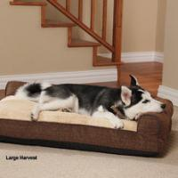 Quality Water Resistant Memory Foam Orthopedic Dog Bed , Soft Large Foam Dog Bed for sale