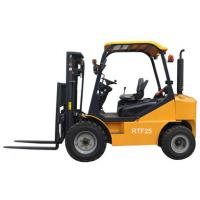 China 2.5ton Rough terrain forklift on sale