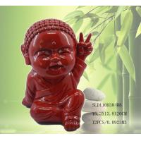 Quality Polyresin cute little monk statue for sale