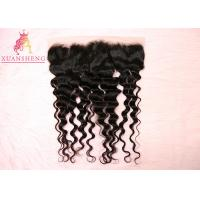 Quality Virgin Indian Hair 13x4 Lace Frontal No Tangle Loose Wave Silky Swiss Lace Frontals for sale