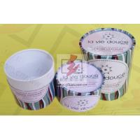 Quality Round Food Packaging Containers / Cardboard Cylinder Boxes Packaging for sale
