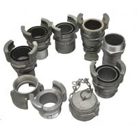 Buy cheap Aluminium Guillemin Coupling / French Coupling With Thread ISO Approved from wholesalers