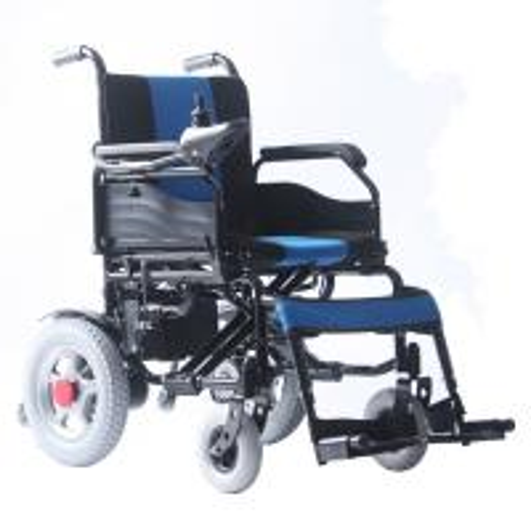 8 Inch Front Tire Indoor Electric Wheelchair Rentals 100kg