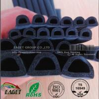Quality D shape rubber door gasket/Self-adhesive EPDM Form Rubber for door and window for sale