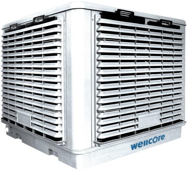 Industrial Swamp Cooler : Industrial evaporative air cooler cooling fan of