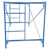 Buy cheap Q195 pre galvanized shoring frame H-frame scaffolding, Andamio from wholesalers
