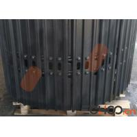 Quality ZX180 Steel Excavator Tracks / Black Hitachi Excavator Tracks High Strength for sale