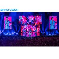 China 3.91mm Pixel Pitch Indoor Rental LED Display Screen High Definition 16 Bits Gray Scale on sale