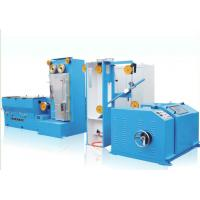 China JDT-13D Copper Medium Wire Drawing Machine With Online Annealing Gear Type on sale