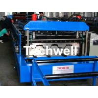 Quality Cold Roll Forming Machine for Making Steel Structure Floor Decking Panel for sale
