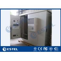Quality Three Bay Sandwich Steel Base Station Cabinet Outdoor IP65 With Heat Insulation Material for sale