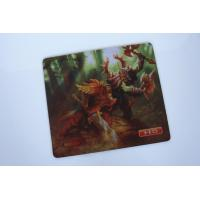Quality Advertising Non Toxic Rubber Mouse Mat 21*18cm For Computer for sale