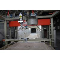 China Horizontal Continuous Polyurethane Foam Machine with Clamp Long Foam Block Unit on sale