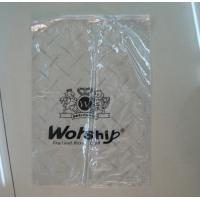 Quality custom recycling zip lock plastic bags for clothes black polythene bags industry for sale