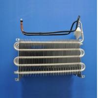 Quality Blue Coating Fin Tube Heat Exchanger / Finned Pipe Heat Transfer Copper Material for sale
