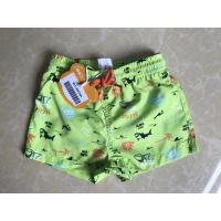 Quality 100%polyester baby's sea printed brief Swimwear brief board shorts for sale