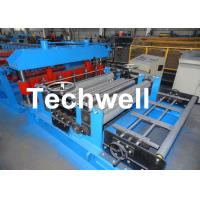 Quality 1.0-6.0x1600mmSteel / Metal Coil Slitting Machine Line With High Precision Slitting for sale