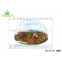 China EVA Cover Indoor Soft Playground Colorful Theme With Electric Basketball Games for sale