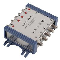 China 5 way in 5 way out satellite amplifier for hotel apartment SMATV system for sale