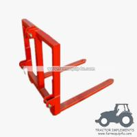Tractor Implements 3 Point Pallet Mover Bale Mover For