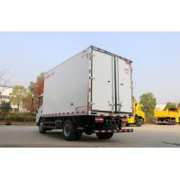 Quality 13.9 CBM 4x2 Size Refrigerated Utility Trailer , Refrigerated Delivery Truck With 115HP EURO IV for sale