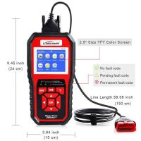 Buy Red Car Scanner Diagnostic Live Data Code Reader Check Engine  8 Languages at wholesale prices