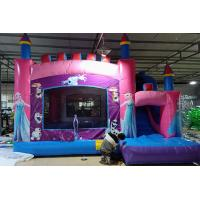 Quality Children Inflatable Jumping Castle High Strength With Double Down Slides for sale