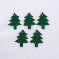 Quality Indoor Christmas Party Crafts Green Handcrafted Christmas Decorations for sale