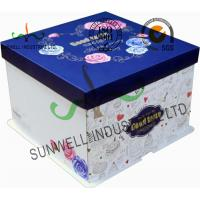 Quality Corrugated Cardboard Food Packaging Boxes , Cardboard Takeaway Food Boxes for sale