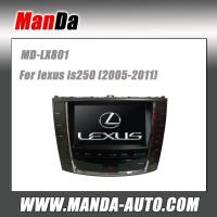 Quality Manda car dvd gps for Lexus is250 (2005-2011) in dash navigation gps oem touchscreen monitor car accessories for sale