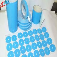 Buy cheap Silicone Elastomer 50 Shore A White Thermal Adhesive Tape for LED Fluorescent from wholesalers