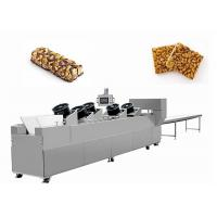 Quality Energy Saving Chocolate Cereal Bar Making Machine / Snack Production Equipment for sale