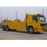 Quality Durable Hydraulic Highway / Road Accident Wrecker Tow Truck With Crane Arm for sale