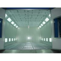 China Spray Booth with Riello Burner on sale