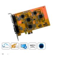 Quality 8ch WD1 H.264 Realtime DVR card for sale