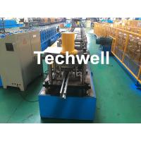 Quality Custom-Made Guide Rail Roll Forming Machine For Making Sliding System Devices With Hydraulic Punching for sale