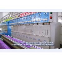 Quality High Capacity Multihead Embroidery Machine / High Speed Embroidery Machine for sale