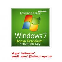 Quality Windows 7 Home premium key 32/64bit Micrsoft windows 7 product key codes for sale