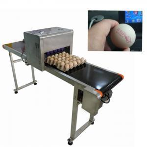 Egg Thermal Inkjet Printer/ Industrial Ink Jet PrinterWith ABC Standard Font