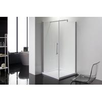 China Square 6m Door Thickness Shower Enclosures Bathroom Shower Stalls Stripe Glass on sale