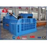 Heavy Duty Scrap Metal Baler Hydraulic Car Bodies Baling Press 90kW Motor Power for sale